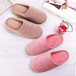 Women Men Winter Warm Super Soft Home Indoor Slip On House F