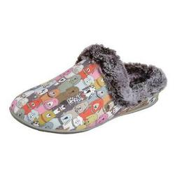 Skechers Women's   Beach Bonfire Cuddle Mutts Clog Slipper