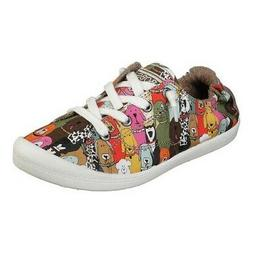 Skechers Women's   BOBS Beach Bingo Dog House Party Sneaker