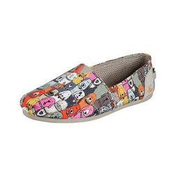 Skechers Women's   BOBS Plush Wag Party Alpargata