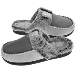 VONMAY Women's Cozy Memory Foam Slippers Fuzzy Faux Fur Slip