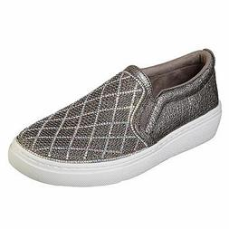 Women's Skechers Goldie Diamond Darling 73800 Pewter Slip-On