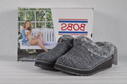 Women's Skechers Keepsakes High Slip On Slipper Grey