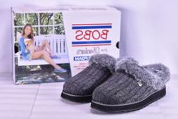 Women's Skechers Bobs Keepsakes- Ice Angel Slippers Charcoal