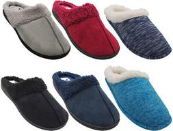 Norty Women's Slip-On Memory Foam Clog Slippers Shoe - Faux