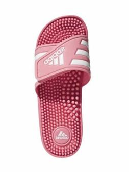 Womens Adidas Adissage Sandal SWIM SHOWER SLIPPER NEW PINK B