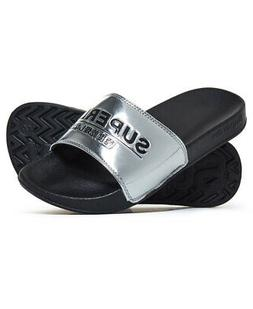 Superdry Womens City Sliders Size M